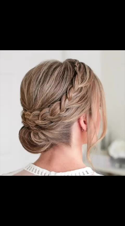 Double Braid Wrapped Roll Bun ✨🎥  #hairtutorial #hairtutorials #lookgoodfeelgoodchannel #lookgoodfeelgood #be-fashionable #fashionmoments #fashionquotient #fashionquotientchannel #followusonroposo