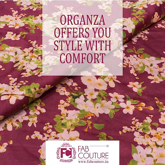 #ORGANZA offers you Style with Comfort!!!!!  For shopping visit us : www.fabcouture.in  #FabCouture! #DesignerFabric #AffordablePrices #DesignerDresses #Fabric #Fashion #DesignerWear #ModernWomen #DesiLook #Embroidered #WeddingFashion #EthnicAttire #WesternLook #affordablefashion #GreatDesignsStartwithGreatFabrics #LightnBrightColors #StandApartfromtheCrowd #EmbroideredFabrics