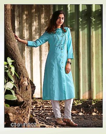 #Kurties #embroidery #dress #cottonkurti #bollywood #like #longkurti #desifashion  #westernwear #mumbai  #kurtidress  #traditional #bollywoodfashion  #indowestern #stylish #instagram #designerkurti #indianclothes #partywear To Know more Details please whatsapp on  +919820936178