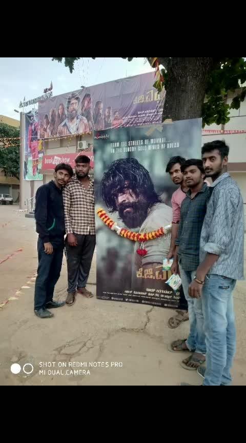 #yashboss #fans #varthur #vinayakatheater