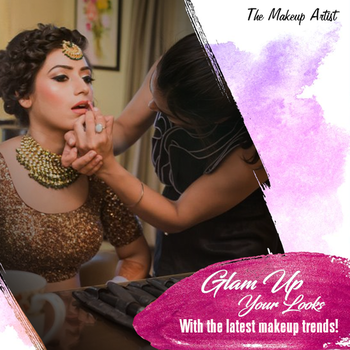 Steal the show with your flawless and absolute looks by selecting the right sort of makeup. Glam yourself on the big day with the professional services by The Makeup Artist.  #TheMakeupArtist #PartyMakeup #Beautiful #GlamUp #Wedding #Occasion #SpecialDay  Visit - http://www.themakeupartist.in/services/bridal-makeup