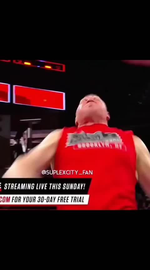 Brock Lesnar on Roposo __Royal rumble 2019__ #wwe  sports  #brocklesner  #wwelove