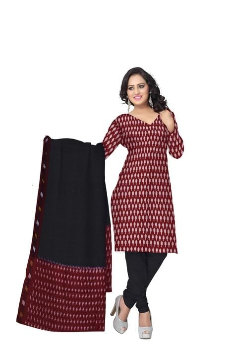 #handwoven #ikkat #ladies #dressmaterial #onlineshoppingforwomen