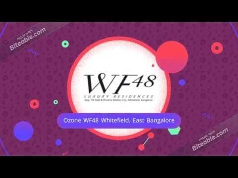 Ozone WF48 - Ongoing apartment - http://www.ozonewf48.net.in/  #ozonewf48 #apartmentsinwhitefield #eastbangalore   Refer: https://sites.google.com/view/ozonewf48netin/home