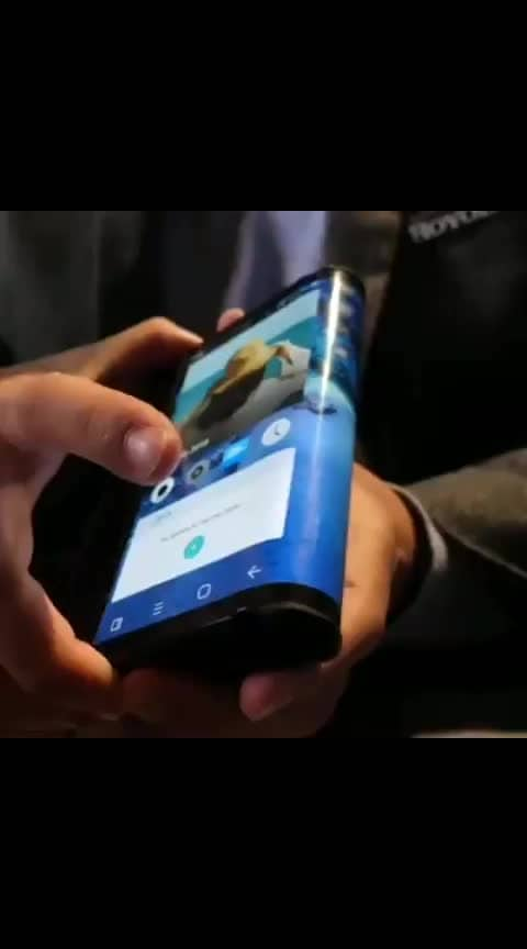 #roposo-wow #flexible #phone