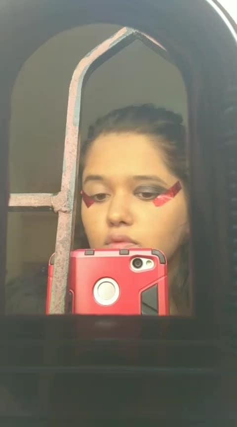 #roposostar #makeup #eyemakeup #roposoness ☺😛👄