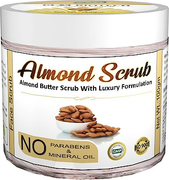 PCM Biotech Almond Butter Scrub With Luxury Formulation (100gm) Scrub  (100 g)  For Men & Women Skin Type: All Skin Types Applied For: Softening & Smoothening Application Area: Face Organic  Buy Now :-  https://bit.ly/2T32f66  #makeup #facemask #hairoil #mask #scrub #facescrub #scrubforface #painreliefoil #nightcream #antiagingcream #womensfacemask #charcoalmask