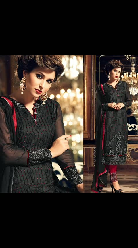 Buy Now @ https://goo.gl/rZ1vMZ  Superb Black Embroidered Designer Salwar Suit  Fabric- Georgette  Product No 👉 VJV-TRAD24418  @ www.vjvfashions.com  #dress #dresses #bollywoodfashion #celebrity #fashions #fashion #indianwedding #wedding #salwarsuit #salwarkameez #indian #ethnics #clothes #clothing #india #bride #beautiful #shopping #onlineshop #trends #cultures #bollywood #anarkali #anarkalisuit #beauty #shopaholic #instagood #pretty #vjvfashions