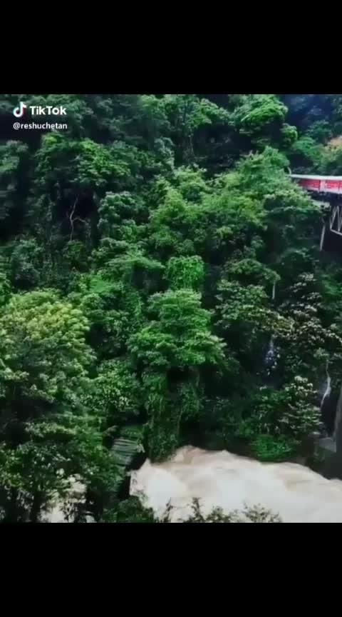 Kukke #subramanya  #karnataka #train #coolweather #expirence #waterfall #rainyweather #dharmasthala #malnad