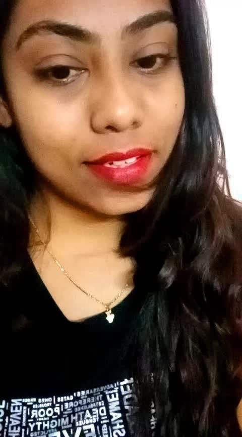 #sa #redlipstick #roposo #love #world #fashionstore #delhifashionblogger #hyderabadblogger #youtuber