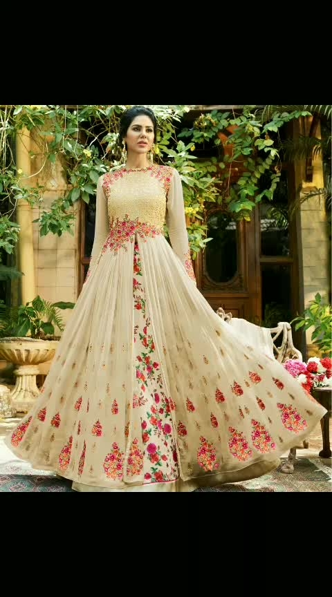 Buy Now @ https://goo.gl/yeGZ6Z  Lovely Cream Georgette Designer Lehenga Style Suit  Fabric- Georgette  Product No 👉 VJV-NYSS501  @ www.vjvfashions.com  #dress #dresses #bollywoodfashion #celebrity #fashions #fashion #indianwedding #wedding #salwarsuit #salwarkameez #indian #ethnics #clothes #clothing #india #bride #beautiful #shopping #onlineshop #trends #cultures #bollywood #anarkali #anarkalisuit #beauty #shopaholic #instagood #pretty #vjvfashions