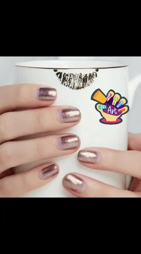 To get similar nails, take a scotch tape and cover the bottom. Grab the Lakme Color Crush Nail Art - S3 and apply it all over. Peel off the scotch tape once your nails are dry!  #nails  #fashion  #girls  #stylishme  #sparkle  #styles  #glitter  #nailart #love  #shine  #polish  #nailpolish  #nailswag #beautyblogger #fashionquotient #fashionquotientchannel #lookgoodfeelgood #lookgoodfeelgoodchannel #followmeonroposo