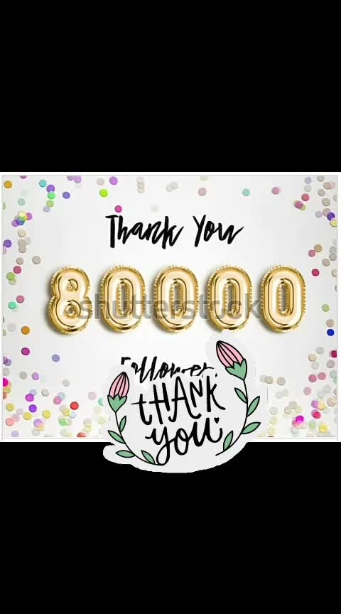 #thanksroposo #thankyousomuch #thanksforyoursupport #thankyoufollowers #80kfollowers #80k #thank_you #thanksforursupport
