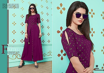 Nitisha Nx Naysa Rayon Long Kurtis Catalog Online Shopping Price Per Piece :- ₹595 + ₹30 (GST 5%) Minimum Order :- 8 Pcs. Fabric :- Rayon 14KG With Foil Print Size :- S(36), M(38), L(40), XL(42), XXL(44) Upcoming Date:-23/01/2019 Product link :- https://castillofab.com/nitisha-nx-naysa-rayon-foil-print-long-traditional-kurtis-exporter ———————————————————————————— Call/whatsapp :- +91 8530 23 23 30 Visit site for products :- https://castillofab.com——————————————————————————— #kurti #wholesalekurti #kurtidesign #womenkurti #kurta #newkurtidesign #kurtisonline #partywearkurtis #rayonkurti #latestkurti #brandedkurtis #kurtiwholesalesupplier #kurtiexporter #suratkurtis #IndianKurtis #castillofab