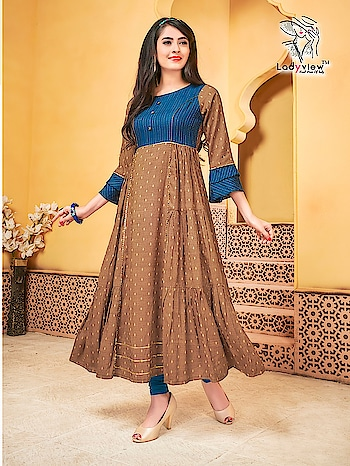Ladyview Heritage Latest Designer Kurtis Wholesale Online Price Per Piece :- ₹695 + ₹35 (GST 5%) Minimum Order :- 5 Pcs. Fabric :- Rembo Stripe And Hide & Seek Weaving Butti  Size :- M(38), L(40), XL(42), XXL(44) Upcoming Date:-25/01/2019 Product link :- https://castillofab.com/lady-view-heritage-long-kurtis-wholesaler-in-surat ———————————————————————————— Call/whatsapp :- +91 8530 23 23 30 Visit site for products :- https://castillofab.com——————————————————————————— #kurti #wholesalekurti #kurtidesign #womenkurti #kurta #newkurtidesign #kurtisonline #partywearkurtis #rayonkurti #latestkurti #brandedkurtis #kurtiwholesalesupplier #kurtiexporter #suratkurtis #IndianKurtis #castillofab