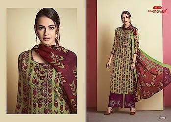 Shahnaz Arts Safeera Heavy Cotton Wholesale Dress Materials Price per Piece :-₹641 + ₹32 (GST 5%) Minimum Order :- 9 Pcs  Top :- Heavy Cotton Satin Embroidery Bottom :- Semi Lawn With Embroidery Work Dupatta :- Chiffon Print Upcoming Date:-28/01/2019 Product link :- https://castillofab.com/shahnaz-arts-safeera-pure-cotton-wholesale-dress-materials -------------------------------------------------------- Call/whatsapp :- +91 8530 23 23 30 Visit our website :- www.castillofab.com -------------------------------------------------------- #dress #wholesale #latestdress #dressmaterial #international #designerdress #newlaunch #brandeddress #suratcollection #indianstyle #weddingwear #bestrate #dressmaterialdesignes #dressmanufacturer #palazzo #cottondress #pashminadress #wintercollection #castillofab