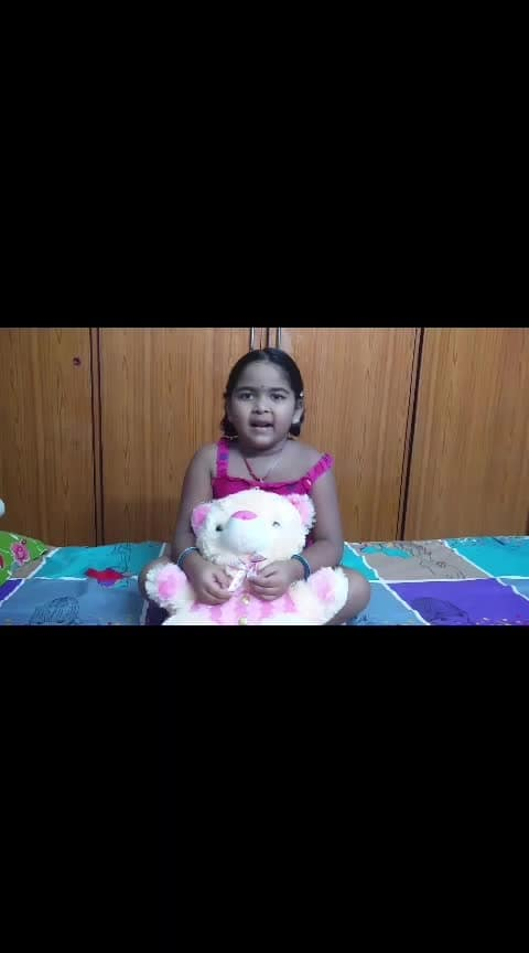#roposo ,#roposostar ,#roposostarchannel ,#cuteness-overloaded ,#kids ,#babyvoice ,#rhymes ,#telugurhymes