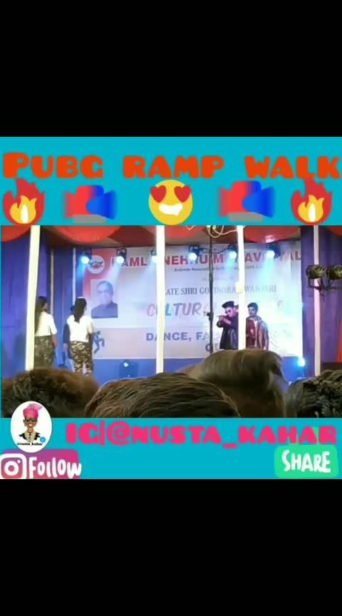 PUBG 🔫Ramp Walk 😍 Fashion Show 😎  #pubg #rampwalk #fashion #show #kamlanehrucollage #video #viralvideo #trendingvideo #dailypost #shatayu #shattu  #followformore #likeformore