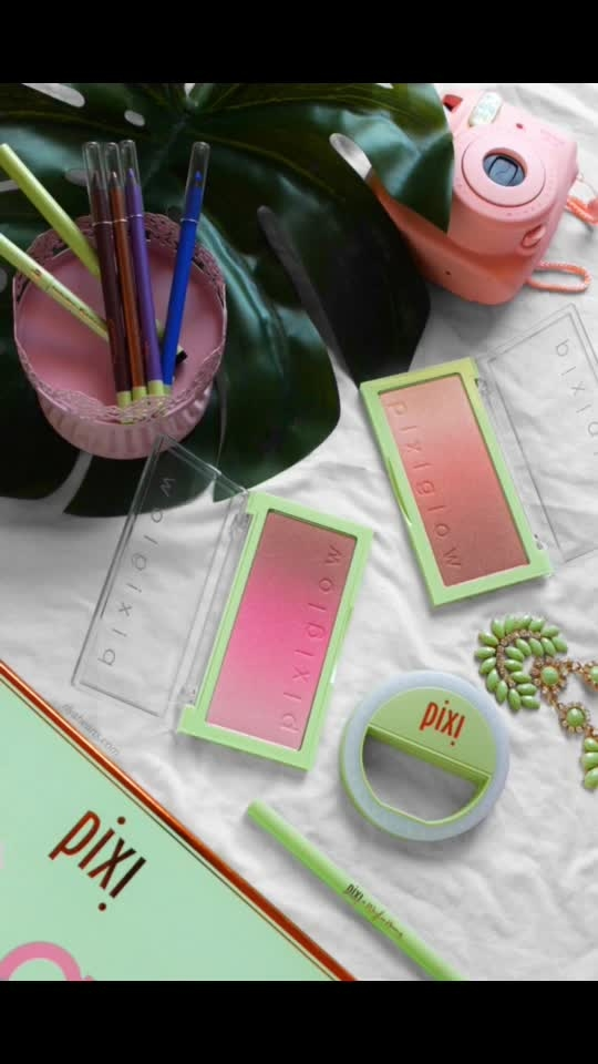 @pixibeauty Glow Cakes ✨ in shades PinkChampagne Glow & GlidedBare Glow ✨ I am really loving that pink one on me ✨  This 3 in 1 coordinated cheek color palette adds a luminous sheer wash of colour for a smooth natural finish ✨ Swipe left for a closer look  . . . . . . . . . . #pixibeauty #pixibypetra #ajmanblogger #lifestyleblogger #like4like #dubaiblogger #uaeblogger #instablog #instablogger #indianblogger #dubaiinstagram #dubaidairies  #chennaiblogger  #chennaifashionblogger #eyeliner #mascara #pixi #flatlaystyle #flatlayoftheday #pixiglowtonic #flatlay #makeupflatlay #cultbeauty #asosbeauty #tamil #lookfantastic #lookfantasticbeautybox #lookfantasticbox #subscriptionbox #pixi