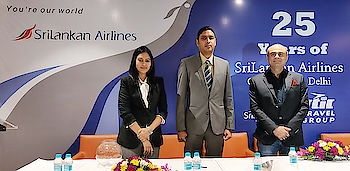 "Sri Lankan Airlines completes 25 years of continuous operations to Delhi  By Bipin Sharma  Sri Lankan Airlines added another golden feather to its cap when it completed 25 years of continuous operations to Delhi. Sri Lankan Airlines commenced operations to DEL in June 1993, thus making it one of the longest standing airline operators to Delhi with 25 years of continuous operations. The airlines started its operation with two weekly flights, and now they have expanded their services to 2 daily flights after they started their double daily operation to DEL from 2018.  STIC travels has been the long standing GSA partner since the inception of the airline in 1979. STIC Travels have been partnering Sri Lankan before this from 1974, when the national carrier of Sri Lanka was known as ""Air Ceylon"". Both their flights from Delhi have convenient schedules using state of the art A320 New aircraft.  Addressing the Media at an exclusive event organized at Hotel The Park, New Delhi to celebrate the 25 years of Sri Lankan Airlines continuous operations to Delhi, Chinthaka Weerasinghe, Manager, Northern India, Sri Lankan Airlines shared, ""At present, Sri Lankan Airlines flies from 13 destinations with 122 flights a week making them the largest international airline operating to India in the context of the number of destinations. It is a matter of immense pride that Sri Lankan Airlines were crowned the world's best Airline to Indian Ocean and Asia's best Airline to India Ocean at the prestigious World Travel Awards 2017. While majority of the traffic on Sri Lankan Airlines is round tour FIT leisure tours to Sri Lanka, we have also witnessed a progressive growth in group travel in terms of MICE, Pilgrim tours and destination weddings. Our Airlines looks forward to working closely with their GSA partner STIC Travels and Sri Lanka Tourism to further increase the numbers from India to Sri Lanka.""  Added Subhash Goyal, Chairman STIC Travel Group, ""MICE arrivals now account for more than 15% of all arrivals from Pan India basis which is mainly handled from Delhi and Mumbai as most corporate head offices are based in these cities. MICE groups prefer Sri Lanka due to the close proximity to India, and also due to multiple gateways assisting the ease of handling a Pan India movement. In the context of pilgrim movements, ""Ramayana Tours"" have become extremely popular, and many operators are conducting back to back series departures. The latest craze that has boosted the traffic has been destination weddings in Sri Lanka. India and Sri Lanka together will play a pivotal role in promoting the tourism for both the nations, and this subsequently, will open new frontiers of economic prosperity and mutual growth."""
