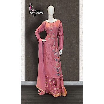 Pink Uppada Sharara Suit http://www.khojkaladesign.com/sharara/pink-uppada-sharara-suit-17637.html  SKU: KHOJ2832 ₹5,980   #fashion #women #dupattasuits #instagood #love #womenstyle   #salwarkameez #casualselfie #me #like #clothes #beautiful   #indianwomenclothing #khojkala #casualsalwarkameez   #salwarsuit