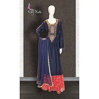 Blue Uppada Sharara Suit http://www.khojkaladesign.com/sharara/blue-uppada-sharara-suit-17598.html  SKU: KHOJ2820 ₹5,193  #fashion #women #dupattasuits #instagood #love #womenstyle   #salwarkameez #casualselfie #me #like #clothes #beautiful   #indianwomenclothing #khojkala #casualsalwarkameez   #salwarsuit