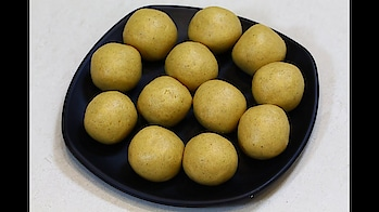 "Enjoy healthy and melt in mouth ""Urad dal ladoo"" recipe today.. #ropo-love #ropo-good #recipes #recipe #food #foodiesofindia #ropo-foodie #cooking #sweet #sweetdish #cooking #ladoos #ladoo #healthy #healthyrecipes"