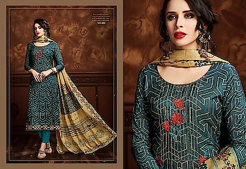 Sargam Prints Tusser Tribes Heavy Dress Materials New Launch Price per Piece :-₹1,050 + ₹53 (GST 5%) Minimum Order :- 8 Pcs  Top :- TUSSER SILK DIGITAL PRINT WITH DESIGNER EMBROIDERY AND HAND WORK Bottom :- SANTOON DYED Dupatta :- TUSSER SILK DIGITAL PRINT Upcoming Date:-29/01/2019 Product link :- https://castillofab.com/sargam-prints-tusser-tribes-wholesale-dress-materials -------------------------------------------------------- Call/whatsapp :- +91 8530 23 23 30 Visit our website :- www.castillofab.com -------------------------------------------------------- #dress #wholesale #latestdress #dressmaterial #international #designerdress #newlaunch #brandeddress #suratcollection #indianstyle #weddingwear #bestrate #dressmaterialdesignes #dressmanufacturer #palazzo #cottondress #pashminadress #wintercollection #castillofab