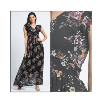 Her soul is made of Wild Flowers!🌸🌼 . New Collection is coming soon, Stay Tuned! #blackfloralmaxidress . . . . #trendarrest #trendyoutfits #trending #floral #wild #sleeveless #party #wear #western #gown #maxidress #newcollection #sheer #fashion #fashionista #followforfollow #likeforlikes #instalikes #instafollows #wednesdayvibes #postoftheday