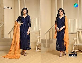 Your Choice Dinnar 22 Pure Chiffon Salwar Suits Full Catalog Price per Piece :- ₹795 + ₹40 (GST 5%) Minimum Order  :- 10 Pcs  Top :- Pure chiffon Bottom :- Santoon Dupatta :- pure Najnin Upcoming Date:-25/01/2019 Product link :- https://castillofab.com/your-choice-dinnar-22-pure-chiffon-wholesale-salwar-suits -------------------------------------------------------- Call/whatsapp :- +91 8530 23 23 30 Visit our website :- www.castillofab.com -------------------------------------------------------- #salwarsuits #wholesale #latestsuits #salwarkameez #international #designersalwar #newlaunch #brandedsalwarsuits #suratcollection #indianstyle #weddingwear #bestrate #salwarsuitdesignes #salwarsuitmanufacturer #palazzo #cottonsuits #castillofab