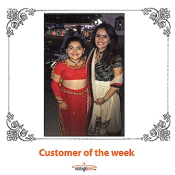 Customer of the week ! Looking splendid in a customized ensemble How delighted is our customer  ! Shop now and you could be our customer of the week too. Get 10% off when you sign up for the newsletter. We ship worldwide! #indianwear #customeroftheweek #ethnic