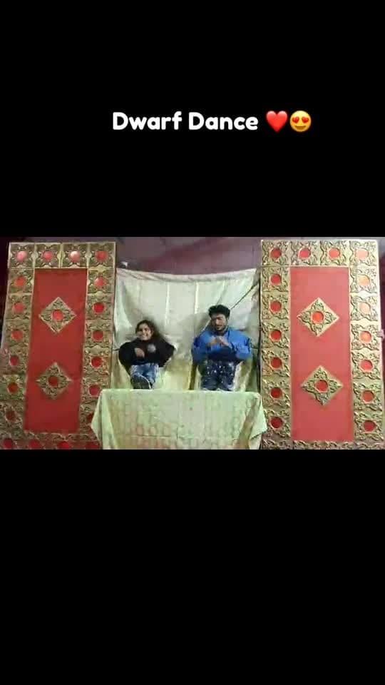 Dwarf Dance #dance #music #dwarf #fun #feast #india #dancing #roposotalent #unique