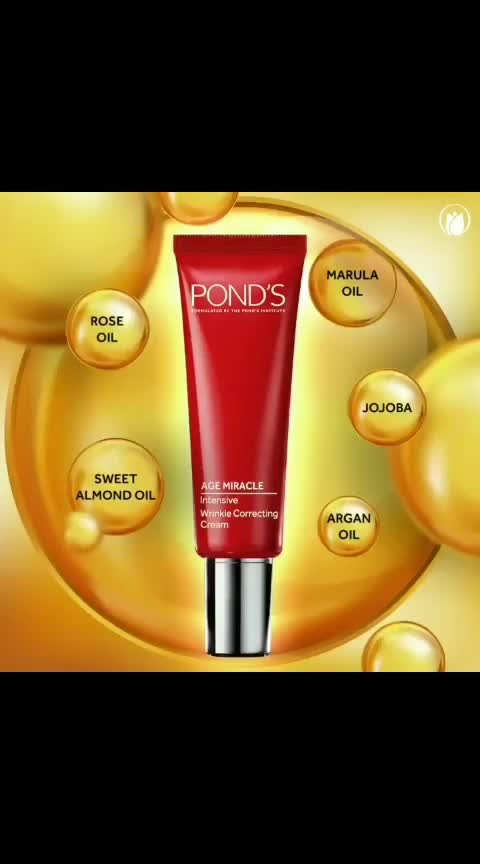 Say goodbye to dull and dry skin with the Pond's Age Miracle Intensive Wrinkle Correcting Cream that moisturises your skin, giving it a younger, radiant looking feel!  #Ponds #PondsIndia #PondsAgeMiracle #SkinCare #Radiance