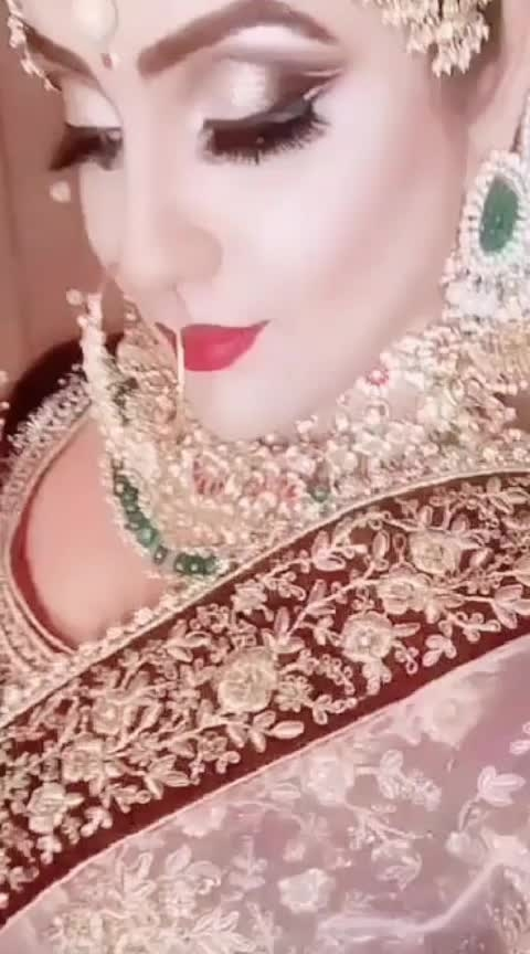 #wedding-bride #wedding-outfits #indianbride #indianbridalmakeup
