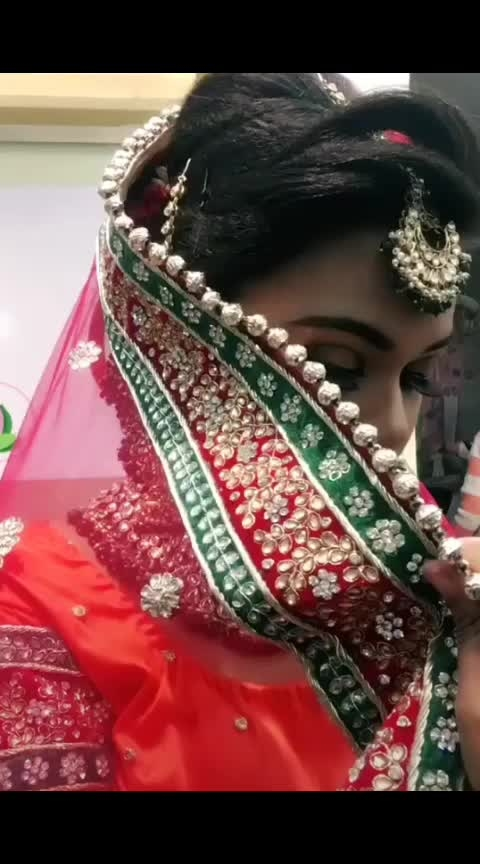#bridaljewellery #indianbride #wedding-bride #bridemakeover