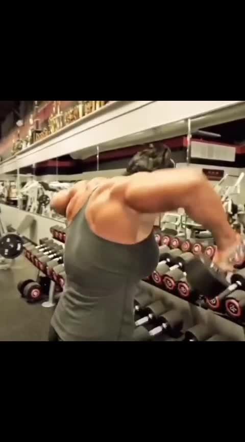 #gym #gymfreak #gymlovers #roposo-sport #roposo-stars