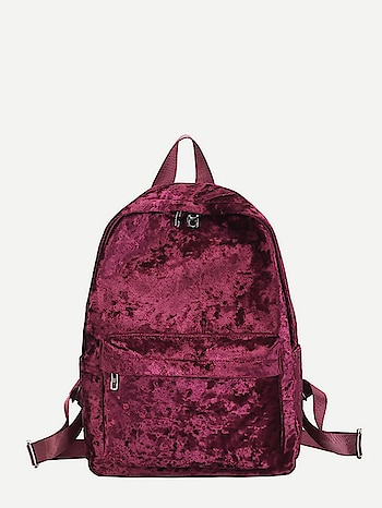 Red Velvet Backpack Website Link-https://bit.ly/2DHkXL8 . . . . #backpack #backpacks #bag #handbag #red #velvetbackpack #leopard #accessories #love #giftforher #shoppingbag #womensaccessories #fashion #womensbackpack #celebration #festive #crossbodybackpack #travelblogger #stylediaries #casual #women #styling #girls #mumbai #india #onlineshopping #birthdaygift #creativefashion #purse