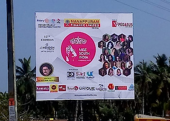 17th edition of Miss South India - Outdoor Media Publicity #MissSouthIndia #PegasusGlobal #DrAjitRaviPegasus #MSI #Pageant #PegasusEvent #ManappuramFinanceLtd #Sajearthresorts #Dqwatches #JoscoJewellers