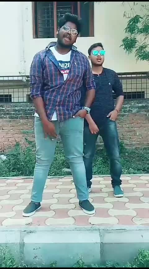 #dj #karthik #ramarama #uyyalo #fun-on #folkdance #roposohyderabad