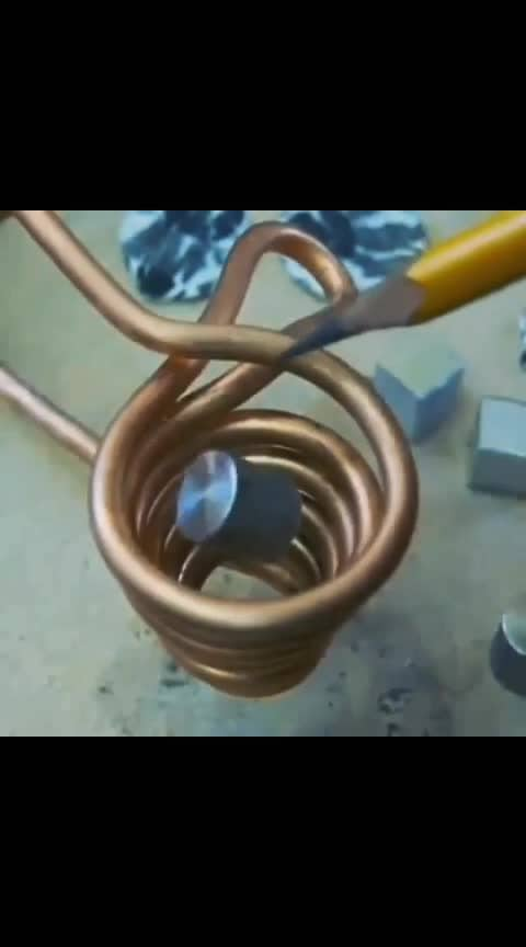 Melting Metal With Magnet!️ Tag your friends  Follow us @sciencesetfree more good project will make. Repost from  @engineering_enigma  _ #Engineering #physics #coil#worldofengineering  #mechanicalengineering #technology#innovation #research #engineer#production #howitsmade  #electricalengineering #mechanical#machineporn #machinegunkelly#mechanics #engineeringporn#scienceexperiment#scienceandtechnology #science#induction #inductionheating #engineers#metallurgy #satisfyingvideos #viralvideos#viral