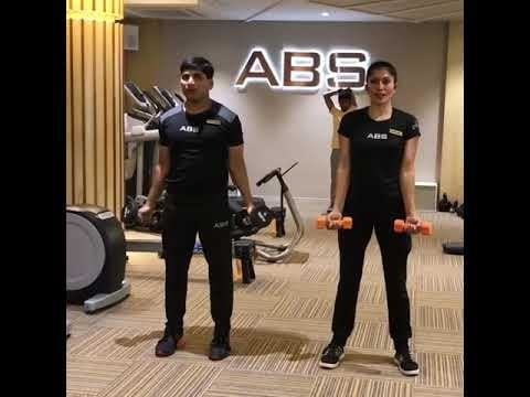 FITNESS ABHIYAN 2019.  TIP 22 WEIGHT TRAIN  Weight training is the most important component of a fitness program. Most people neglect it, because they feel that they will bulk up.  Weight training helps to retain muscle mass. It Increases your bone density. Improves your posture. It makes you feel very firm.  You need only one day a week to get all the benefits of weight training. But make sure you do it.   Actually with weight training you retain and increase lean muscles. And that helps to burn more calories too.  Buy a pair of dumbbells. Start with very light. And then you can increase it every month. Just do these exercises in the video. Do each exercise for 10 to 12 repetitions. One set each.  Take a rest of 20 seconds in between the sets. Do each exercise in slow controlled rhythmic motion.  Make sure you follow EE breathing (exhale when you put effort) Enjoy getting leaner and stronger.  LET 2019 be your FITTEST YEAR ever. Abhimanyu Sable  Training Since -1991  #fitnessabhiyan19 #ItsNotGymItsLife #newyearresolution #fit2019