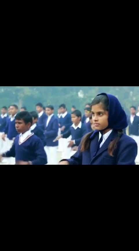 follow me on #alliswell வாய் பேசமுடியாத குழந்தைகள் படிக்கும் பள்ளியில் தேசிய கீதம் சொல்லுவதை பாருங்கள்👌 #nationalanthem #nationalanthemindia