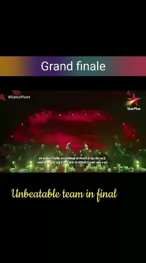 Mumbai team #danceplus4 #grandfinale #v-unbeatable