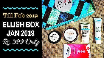 Ellish Box January 2019 | Till 10th Feb 2019 | Rs. 399 Only | Unboxing & Review  January 2019 edition of Ellish Box is again a huge hit! Although a bit delayed, it's definitely worth the wait! It comes with some amazing products from awesome brands with total value multiple times the price tag! I liked the Vert bronzer a lot and can't wait to use it. . . . Checkout the review on my channel now and book ur box soon as its available till 10th Feb only! . . . To Order : Website : http://ellish.in/ Instagram DM : https://www.instagram.com/_ellish__/ Price : Rs. 399 (Free Shipping) . . . . #ellish #ellishbox #january #february #2019 #beautybox #affordable  #beautysubscription #skincare #haircare  #makeup #natural #glowingskin #naturalskincare #unboxingandreview #youtuber #subscriptionboxindia #subscriptionboxreview #sonameraki  #honestreviews #sonammahapatra