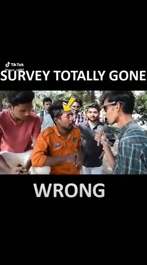 #survey #gonewrong #tiktok #pubg #lol #roposo #hahatv