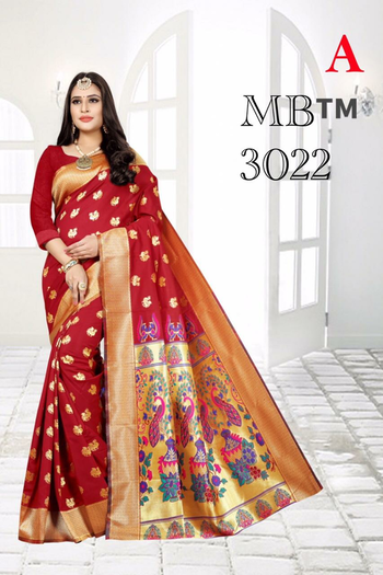 ***More for Wedding Collection*** Soft Silk weaving saree with Weaving butta with contrast pallu with plain matching blouse piece Contact : 98254 42027 Price : 1160/- #silksareeindia #traditionalwear #thebazaar #ethnic-wear #wedding-outfits #online-shopping