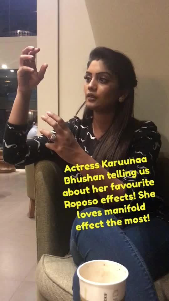 @karuunaabhushan #roposoloveshyd