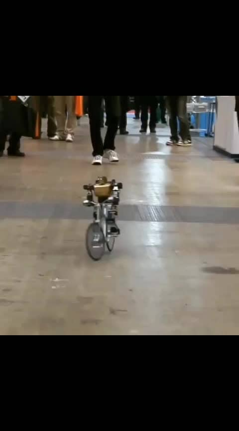 PRIMER V-2 Rrobot Rides Bicycle just like a Pro 🚲 It maintains balance with a built-in gyroscope, through which he holds the balance and steers in a straight line. Primer-V2 can reach a speed of 6 mph. _ Video source : Tokyoteck via @youtube  Credit : ikinamo (YouTube channel) and digiinfo.tv for the original content _ Tag your friends 🚴♀️🚴 Follow us 👉 @sciencesetfree 🤖 _ #engineering #worldofengineering #science #robot #technology #physics #engineers #robotics #robo #mechanicalengineering #technologies #cyclinglife #softwareengineering #satisfyingvideos #techworld #electricengineering #viralvideos #computergraphics  #robotic #futuristic #innovation #japan #cycle