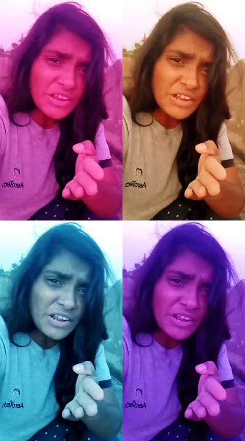 acid posesthanu..!!😬😋 #funntime #roposo-masti  #goodmorningfriends  #roposo #roposoness