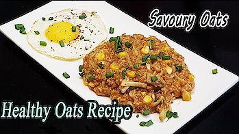 Savory & Spicy Oats - This can be a delicious breakfast,quick lunch or easy snack option for you..Do try it.. #ropo-love #ropo #roposo #ropo-good #ropo-post #ropo-video #cooking #recipe #recipes #recipeoftheday #recipevideo #cook #cookinglove #snacks